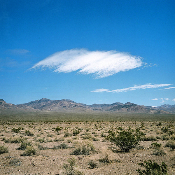 Death Valley cloud 1 by John Brooks