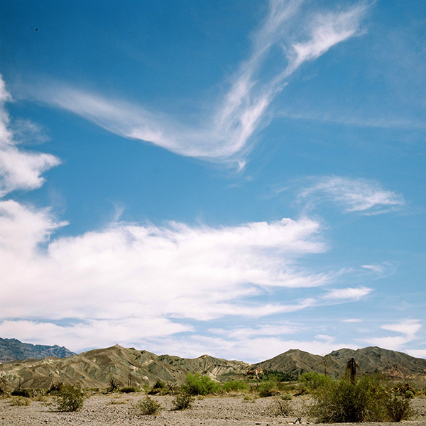 Death Valley cloud 2 by John Brooks