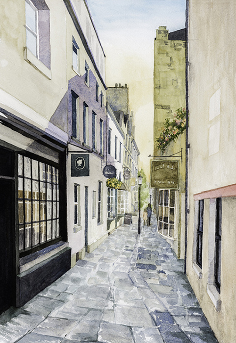 Bath Street by Julia Vaughan
