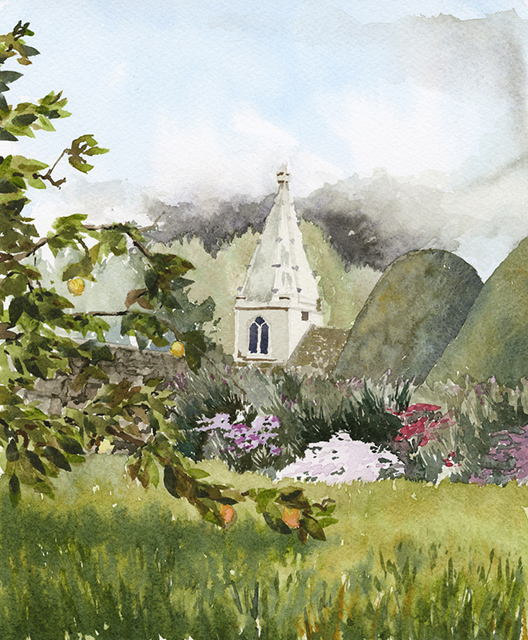 Great Chalfield church by Julia Vaughan