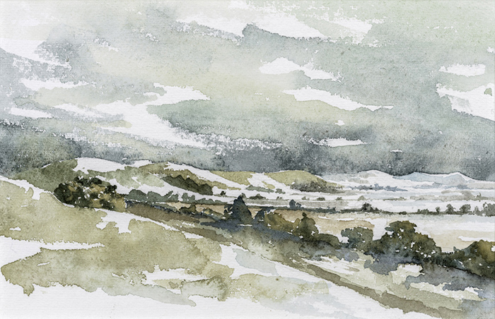 Marlborough Downs by Julia Vaughan