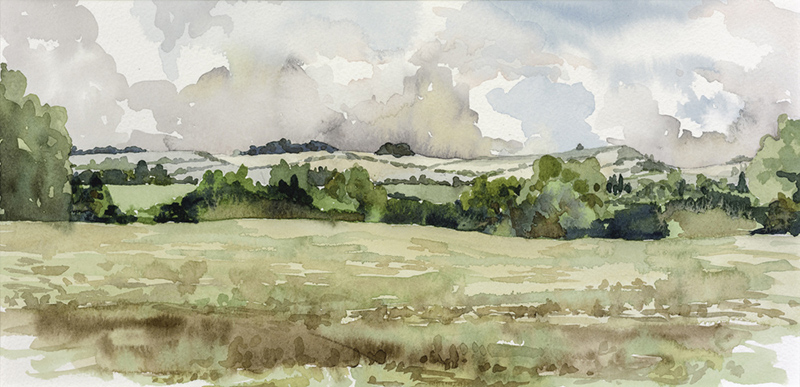 Salisbury Plain by Julia Vaughan