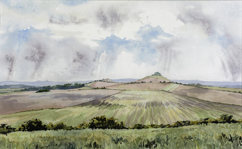 Woodborough Hill by Julia Vaughan