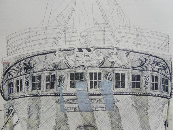 SS Great Britain 2 by Lisa Malyon